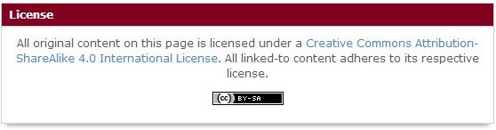 License Box